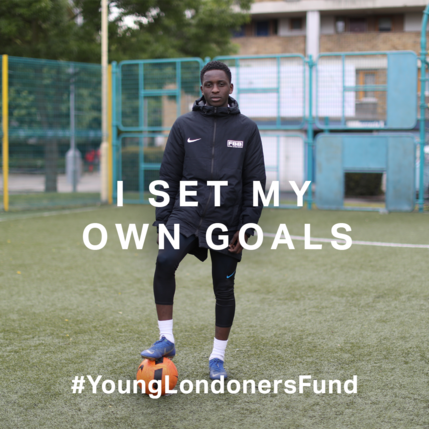 Young Londoners Fund football activity